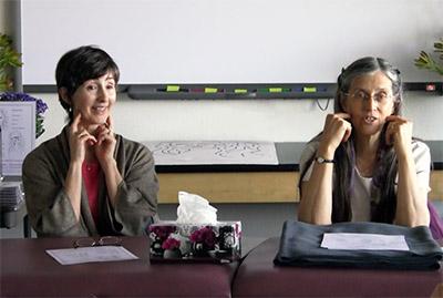 Mary Louise-Susan Lange teaching