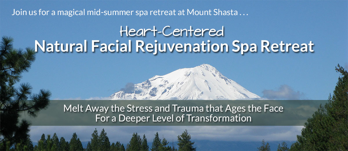 Heart-Centered Natural Facial Rejuvenation Spa Retreat