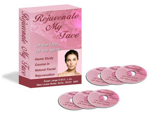 with Face Lift Massage